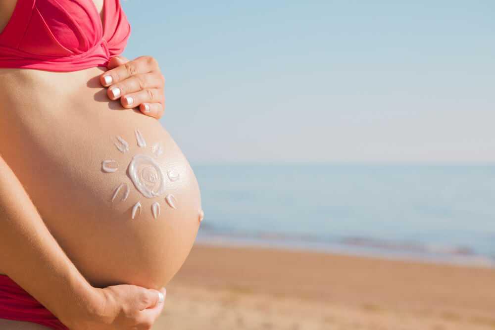 Hamilelikte güneşlenmek